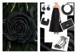 Abito: Stella McCartney - Borsa: Givenchy - Sandali: Jimmy Choo - Collana: Emporio Armani - Bracciale: MM6 by Maison Martin Margiela - Orecchini: Dior